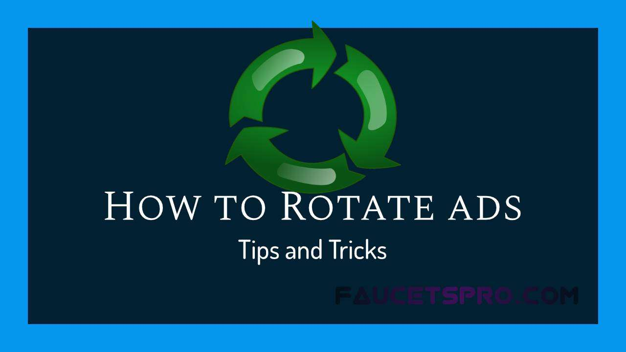How to rotate ads in your website?