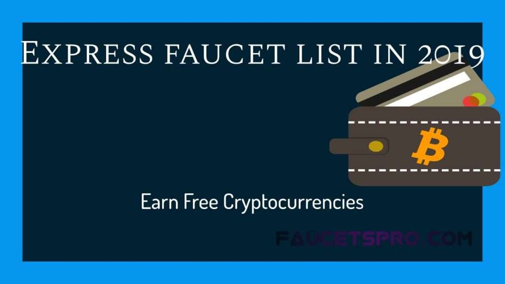 ExpressCrypto Faucets List