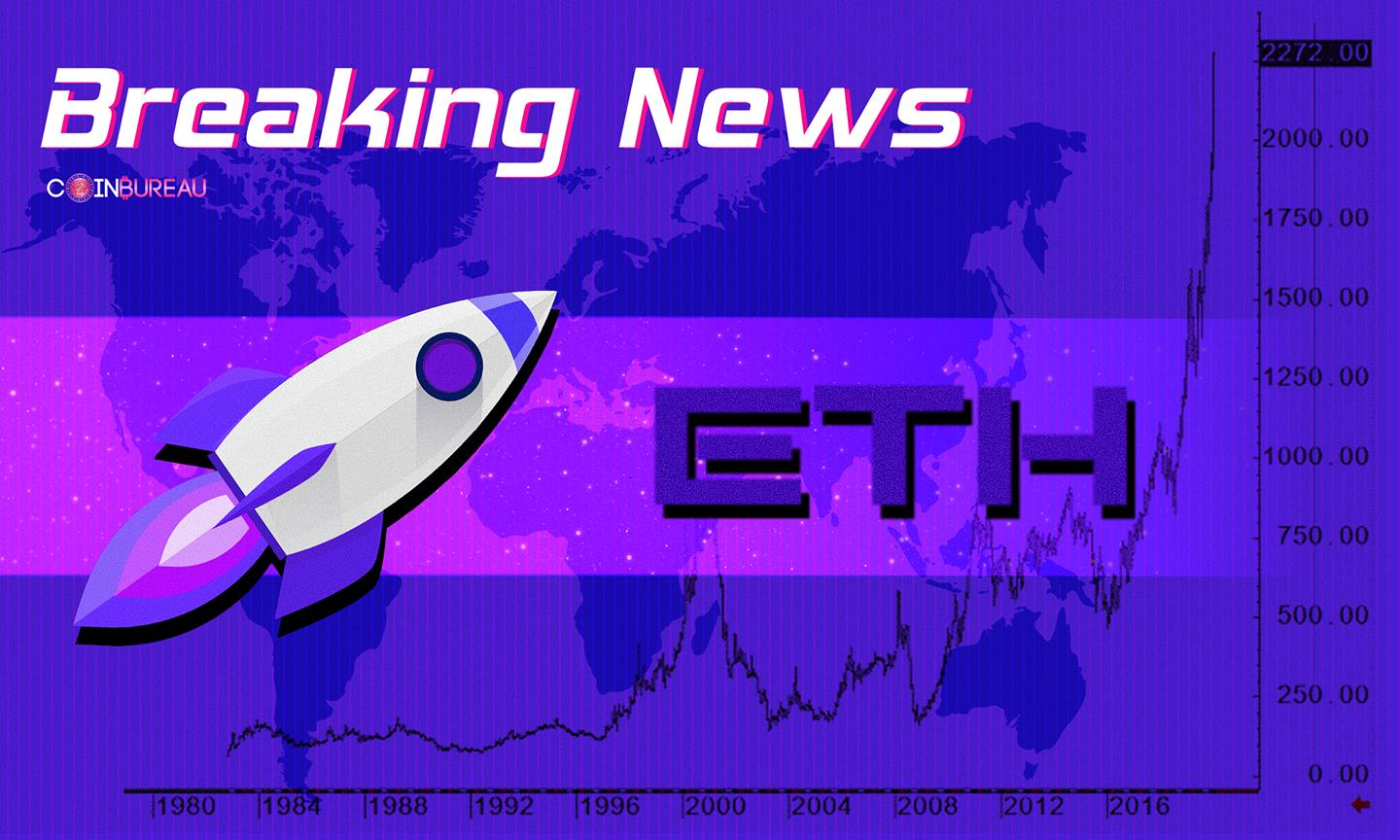 Crypto Billionaire Who Bought ETH at $1 Says Parabolic Q4 Could Be Coming Up